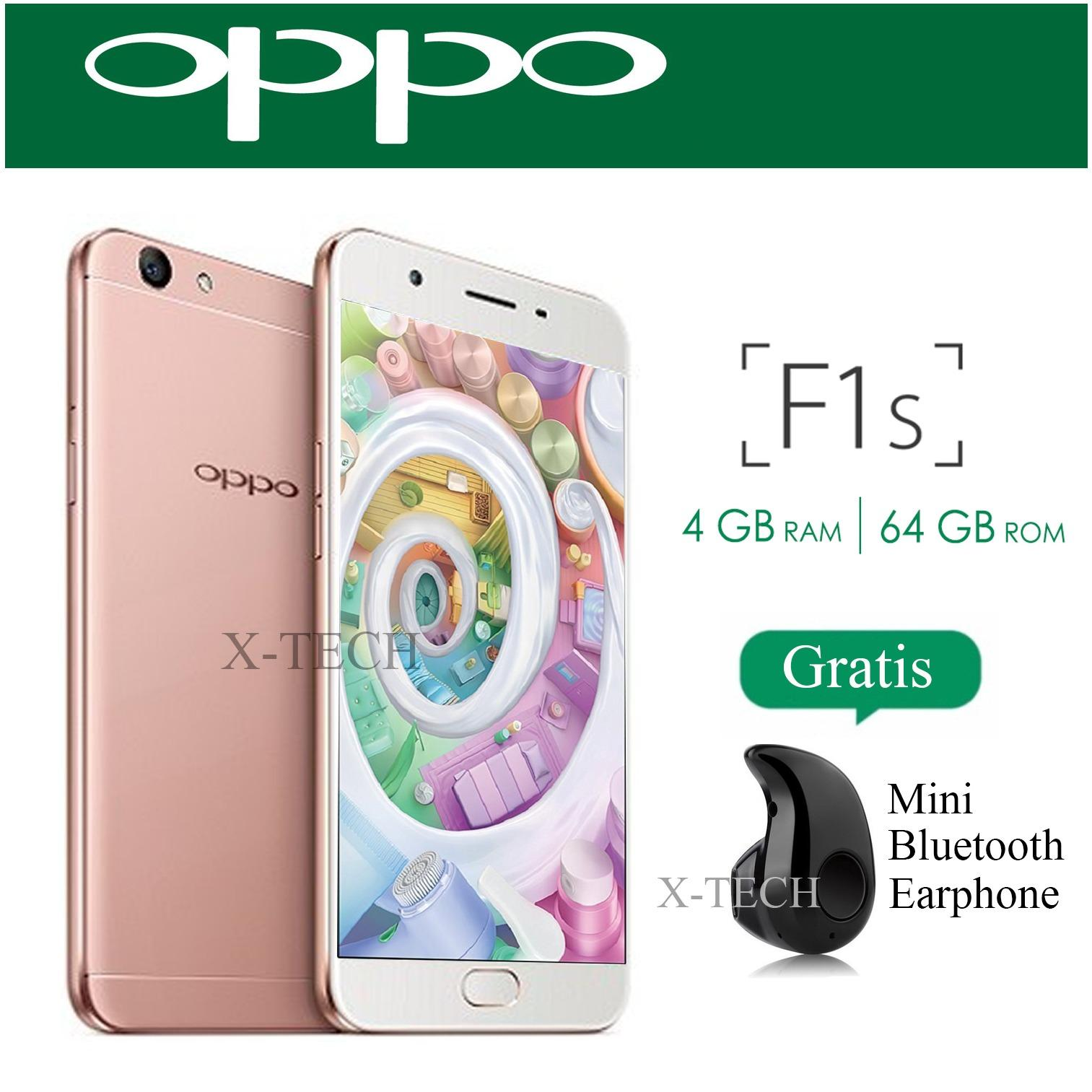 Oppo F1s - New Edition - Ram 4GB - Rom 64GB - 4G/LTE