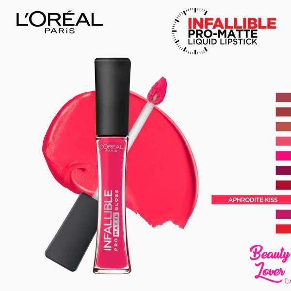 L'Oreal Paris Infallible Pro Matte Gloss - 306 Aphrodite Kiss