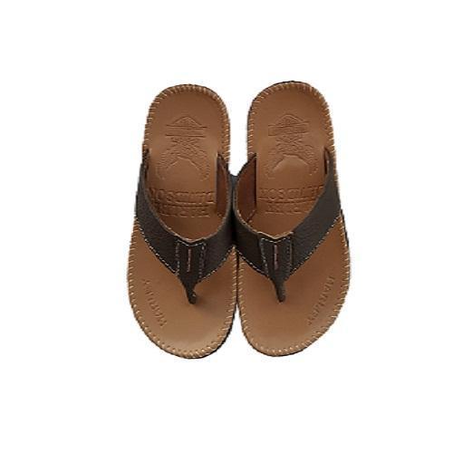 Sandal Pria Kulit Asli - Cokelat