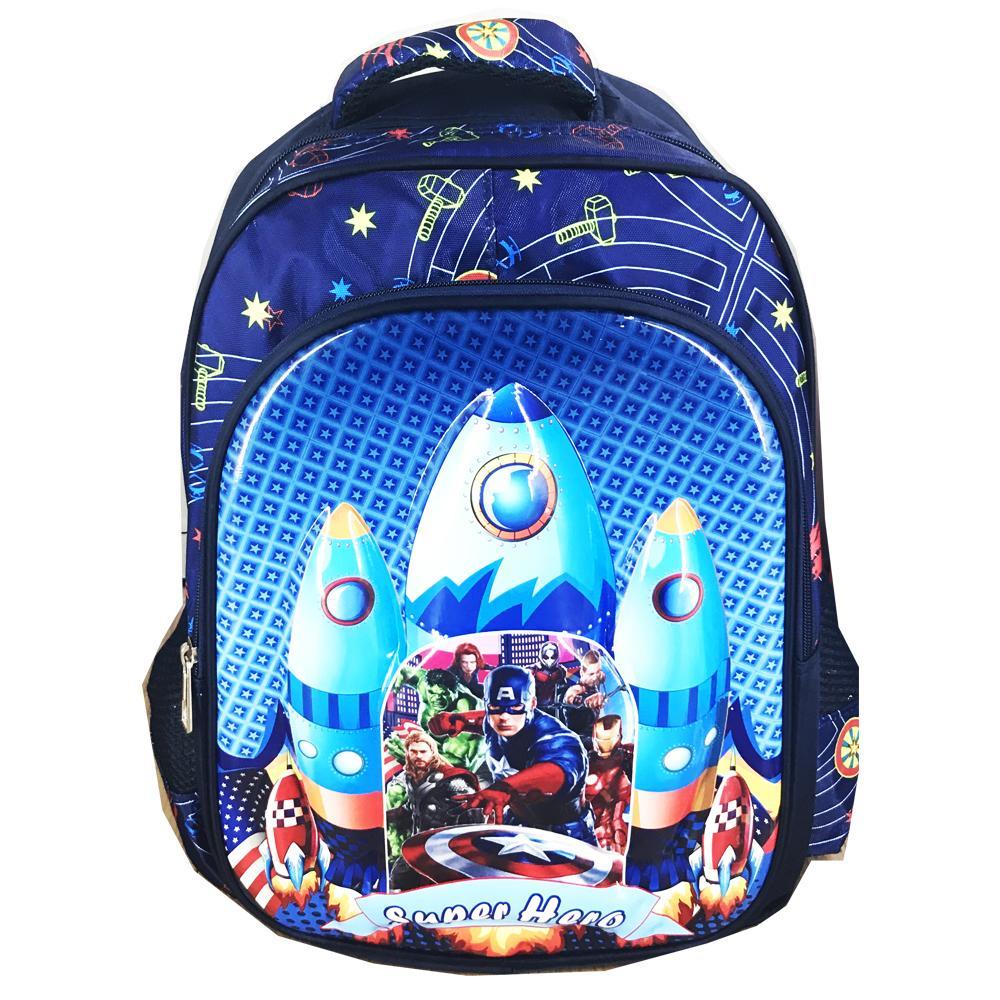 BGC Tas Ransel Sekolah Anak SD Avenger Infinity War Astronot 6D Timbul IMPORT - Full Motif ...