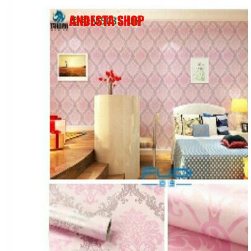 Harga Walpaper Stiker Dinding Multiwarna 45Cm X 10M Terbaru Terbaik