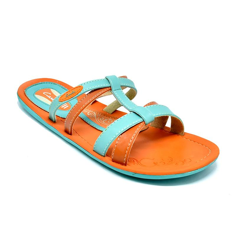 CARVIL SANDAL WANITA CROWN-02 L ORANGE-TOSCA