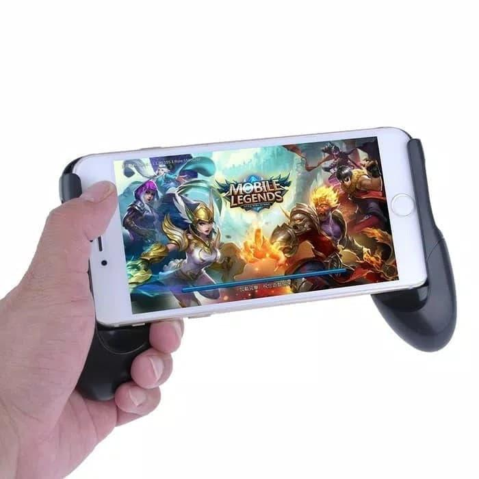 Review Gamepad Android Ios Gaming Handle Controller Game Grip Holder