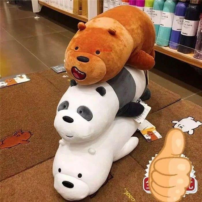 Review Best Seller Earphone Miniso We Bare Bears And Newest Prices