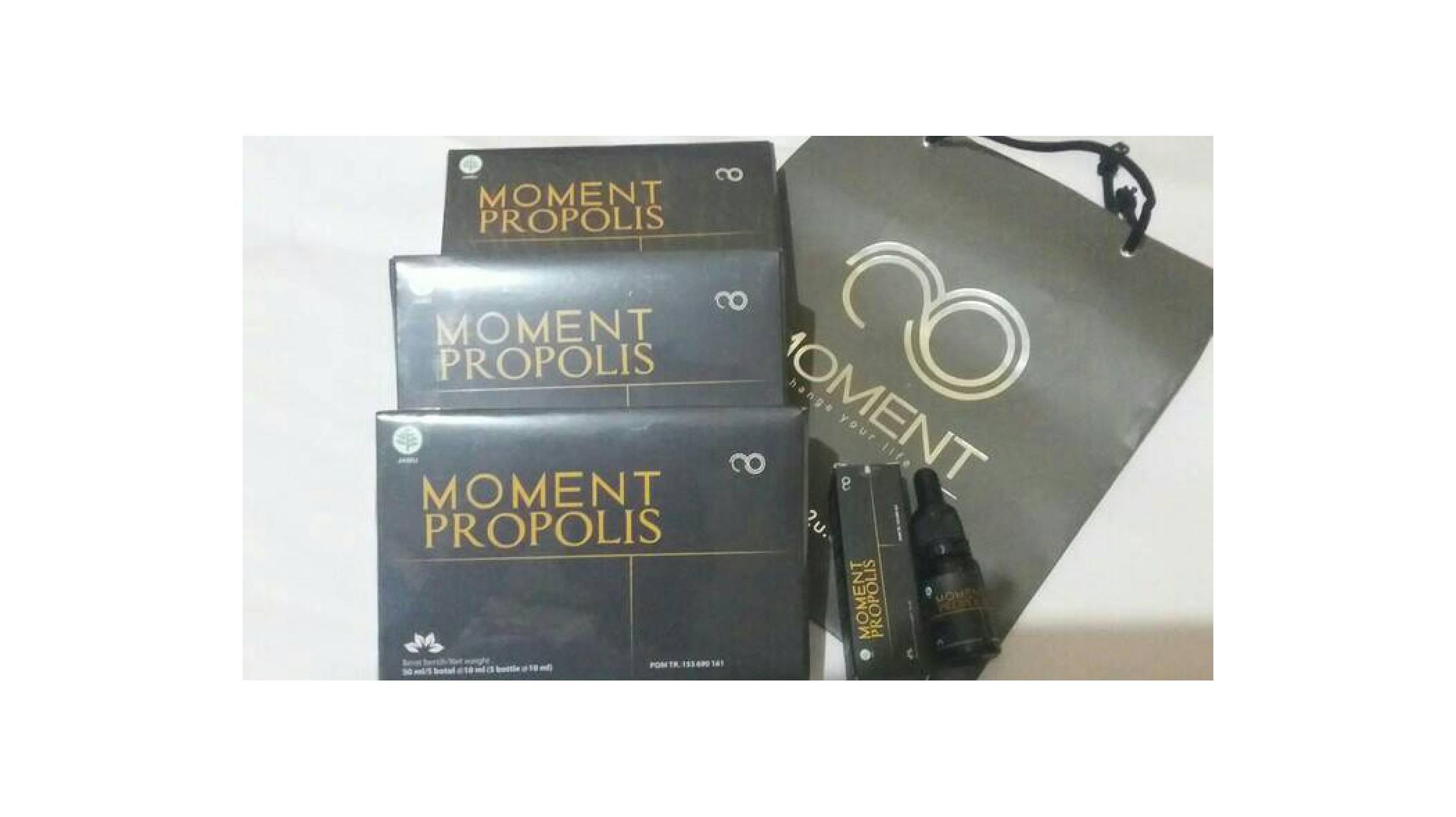 Buy Sell Cheapest Glucogen Moment Kemasan Best Quality Product Propolis Original  1 Box Isi 5 Botol Brazilian New Baru Per