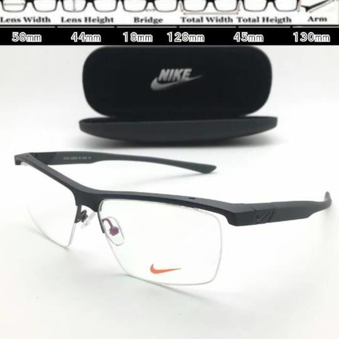 Detail Gambar DISKON Frame Kacamata Nike 7077 Sport Hitam Doff TERMURAH  Terbaru a8cd064d80