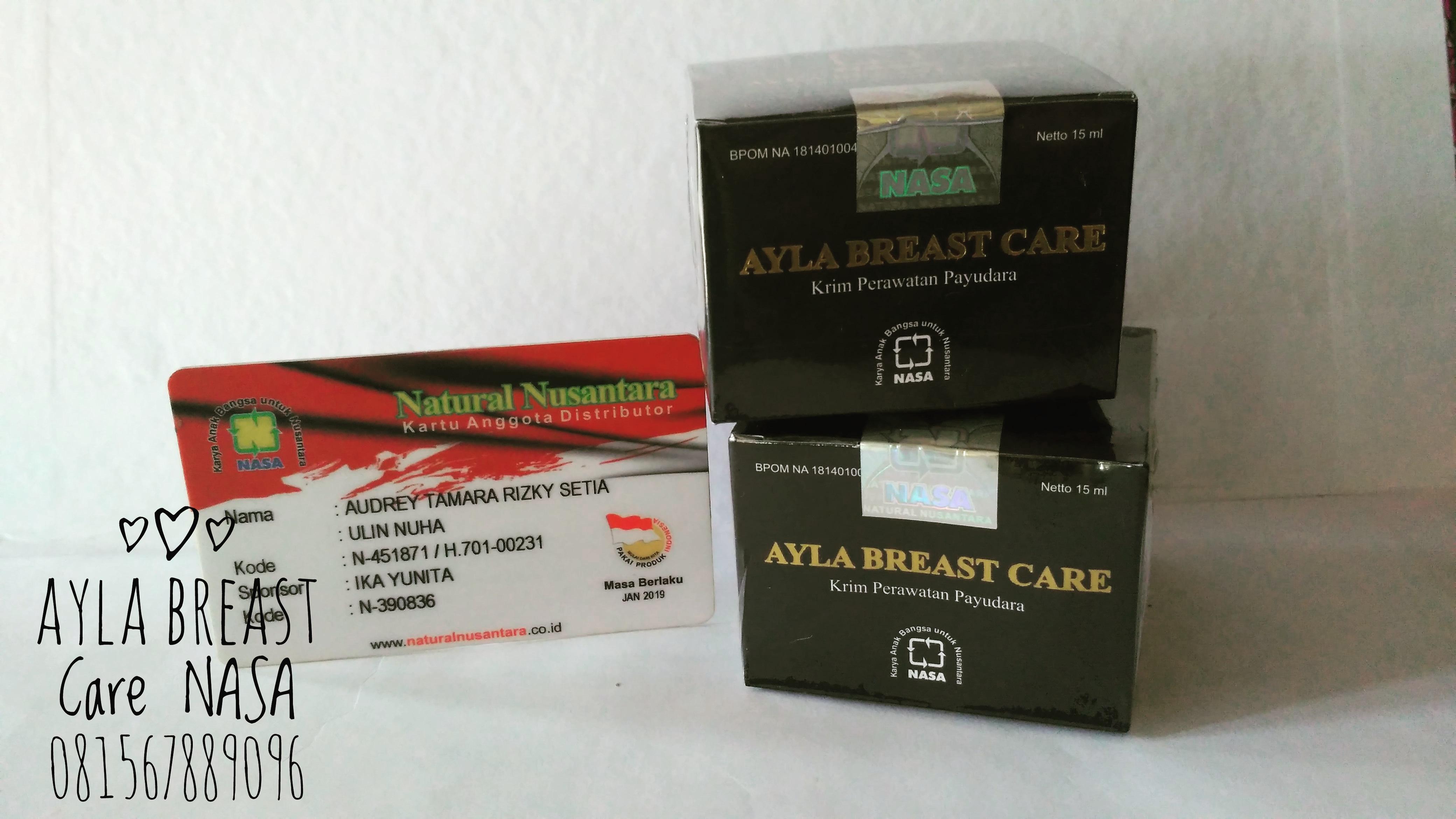 Beli Ayla Breast Care Nasa Original Bonus Free Pouch Perawatan Payudara Online Murah