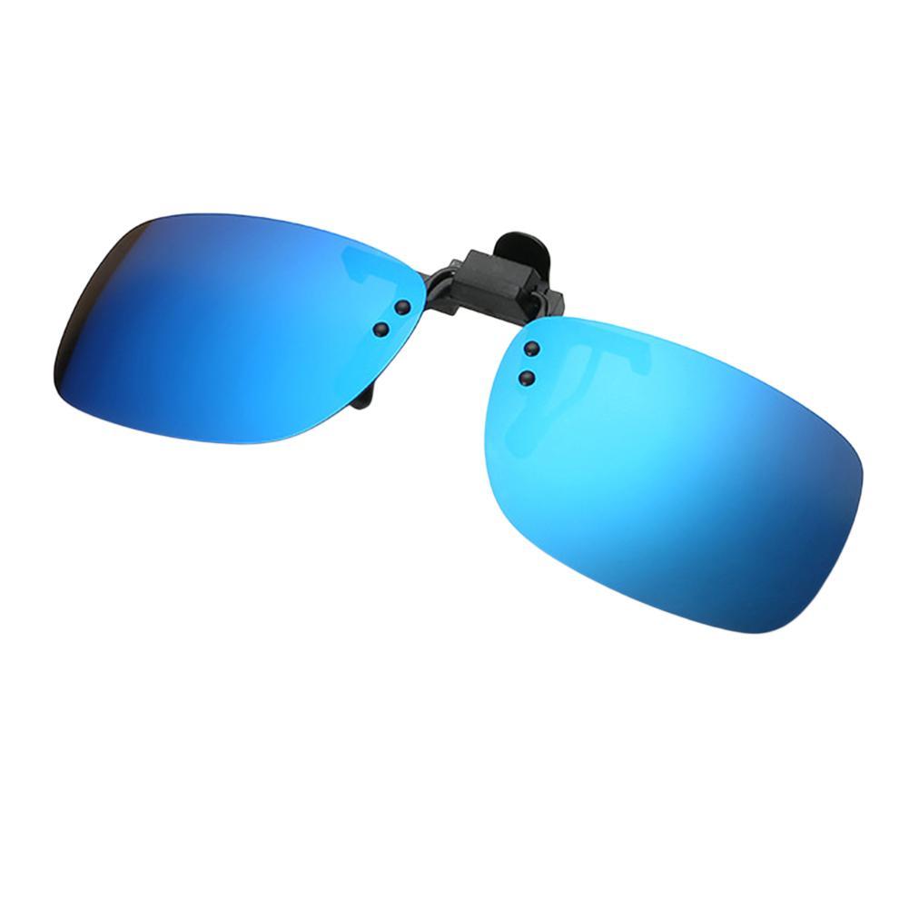 Terpolarisasi Klip On Kacamata Hitam Uniseks Lipat-Hingga Berjemur Kacamata Mengemudi Day .