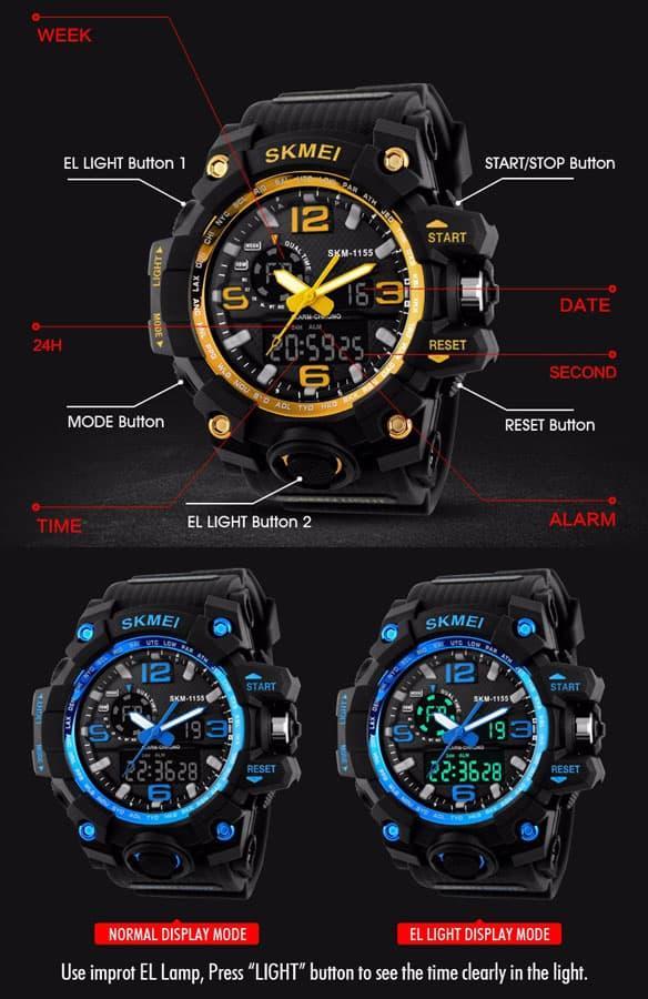 ... Jam Tangan Pria Sport Original SKMEI 1155 Anti Air   G Shock Digitec -  3 ... 8401f63758