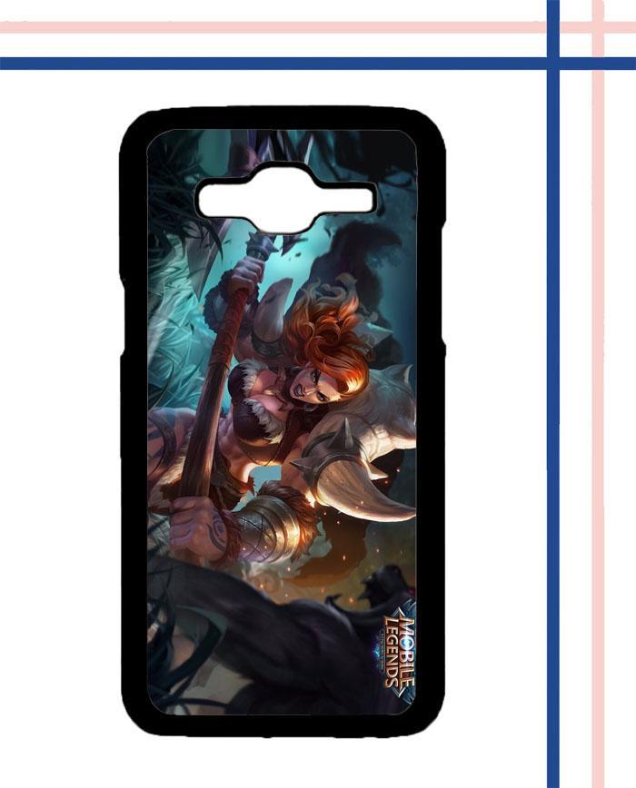 Casing HARDCASE Bergambar Motif Mobile Legend Hilda Power of Megalith U0269 untuk Handphone Samsung Galaxy J1 2016 SM-J110 Case