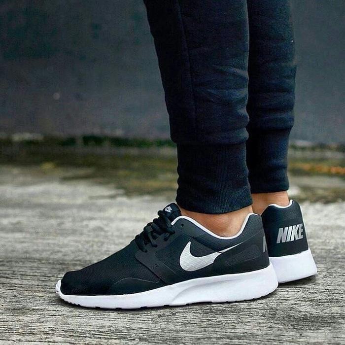 Sepatu Cowok Keren ORIGINAL Nike Kaishi Run NS Black Silver