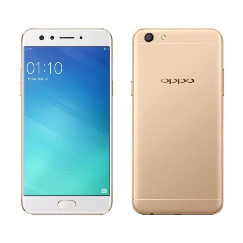 OPPO F3 Smartphone - Black [64GB/ 4GB/Dual Selfie Camera]