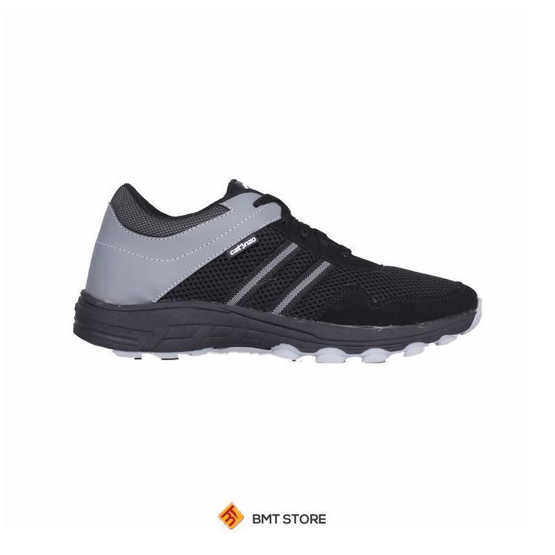 Detail Gambar Sepatu Sneaker Olahraga Lari dan Joging Pria Catenzo DY 046-687 Hitam Kombinasi Terbaru
