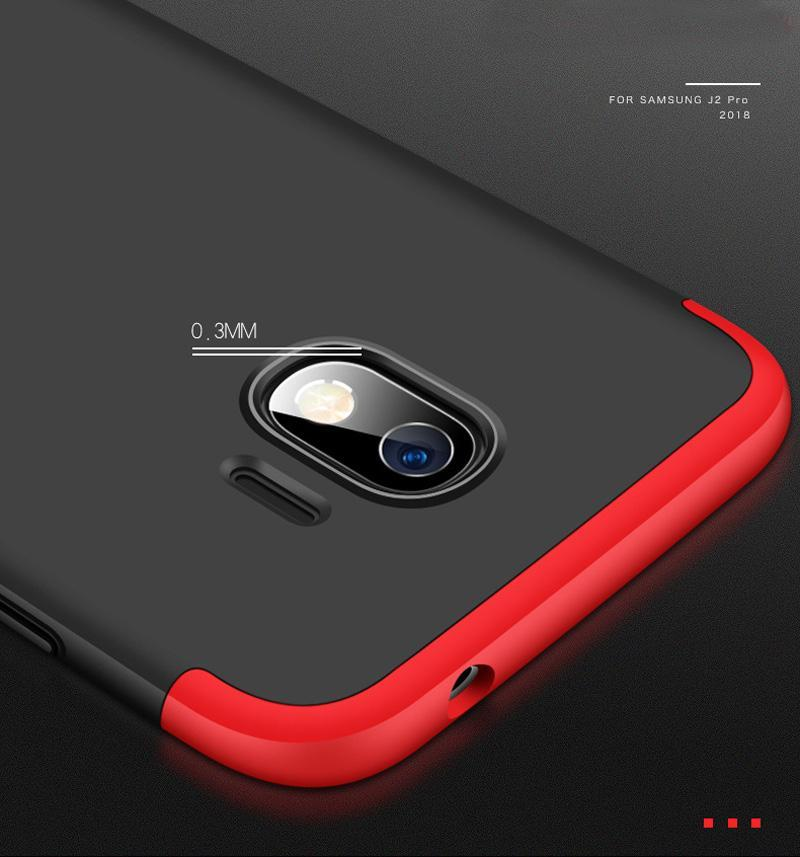 ... Accessories Hp CASE GKK Hardcase 360 Full Protective for Samsung Galaxy J2 Pro Free Tempered Glass ...