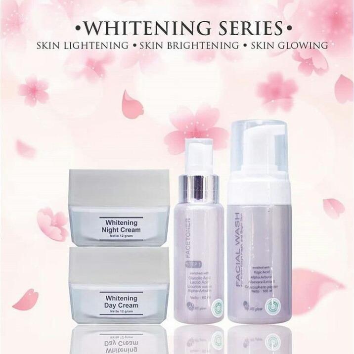 Spesifikasi Ms Glow Whitening Series Paket Pemutih Wajah Original Bpom Dan Harganya