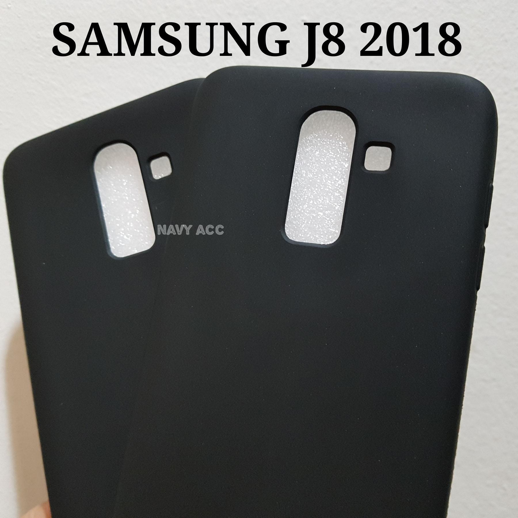 Case Samsung J8 Softcase SILICON Doff BLACK MATTE J8 2018
