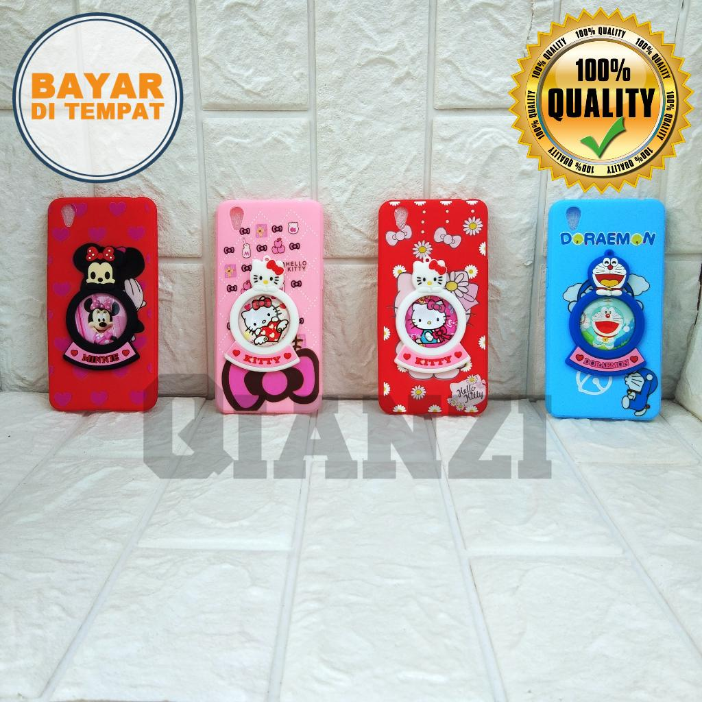 Casing/Softcase For Oppo Neo 9/A37 Character Animasi Plus Boneka Timbul 3D