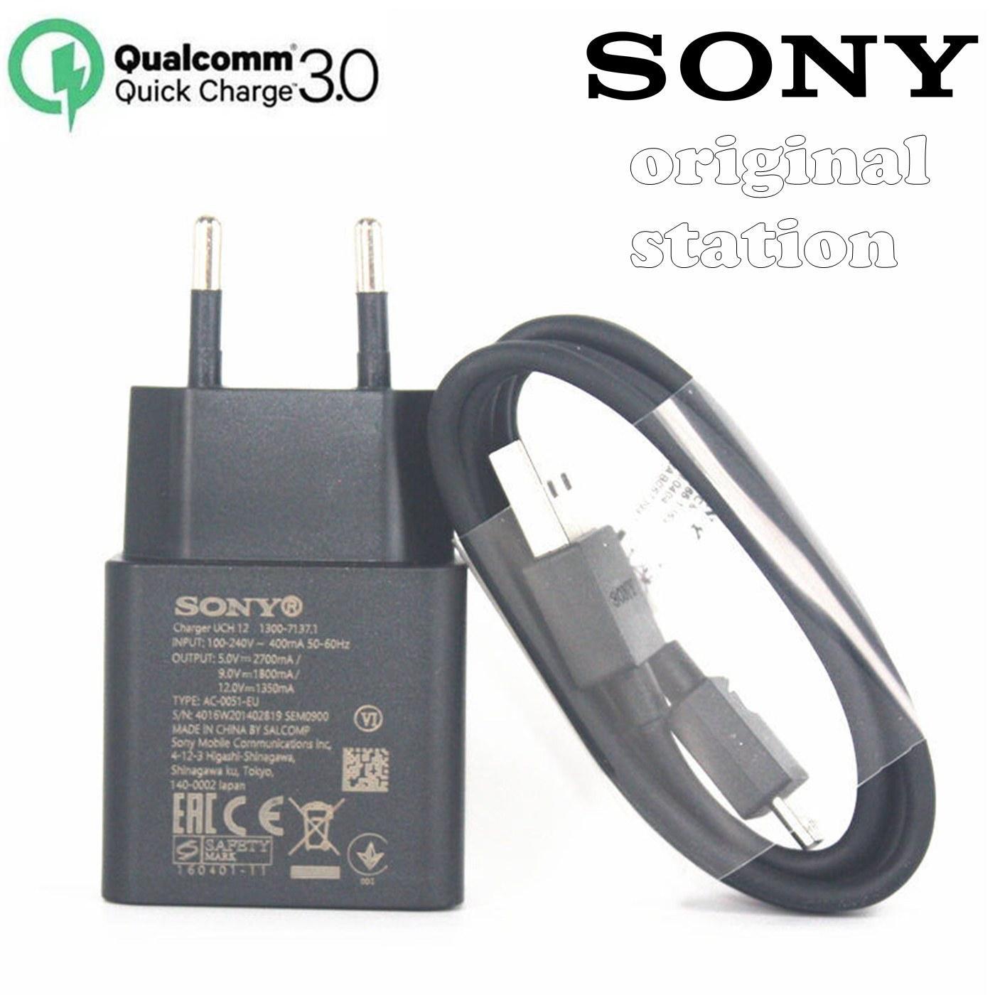 Sony Qualcomm Quick Charger 3.0 Type C Model UCH 12 For Sony Xperia XZ XZ1 XZs