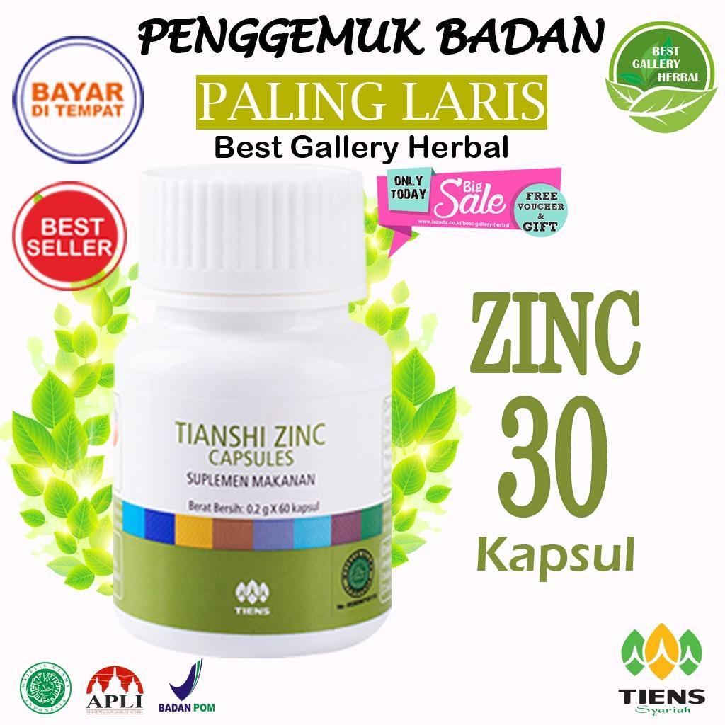Zinc Capsules Original Tianshi 1 Botol Isi 30 Kapsul Zinc Promo Free Membership Toko By Best Gallery Herbal Diskon Akhir Tahun