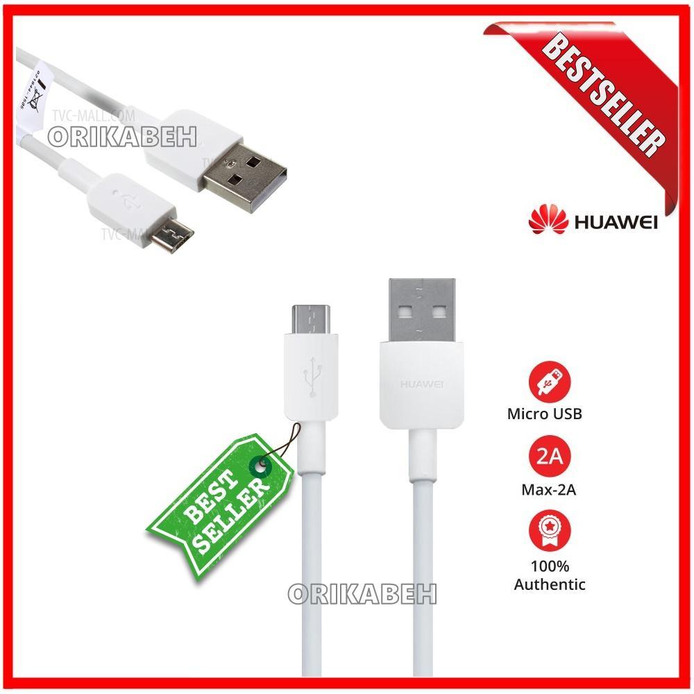 huawei kabel data micro usb 2a putih – original 100% – kabel data huwei micro usb ( orikabeh )