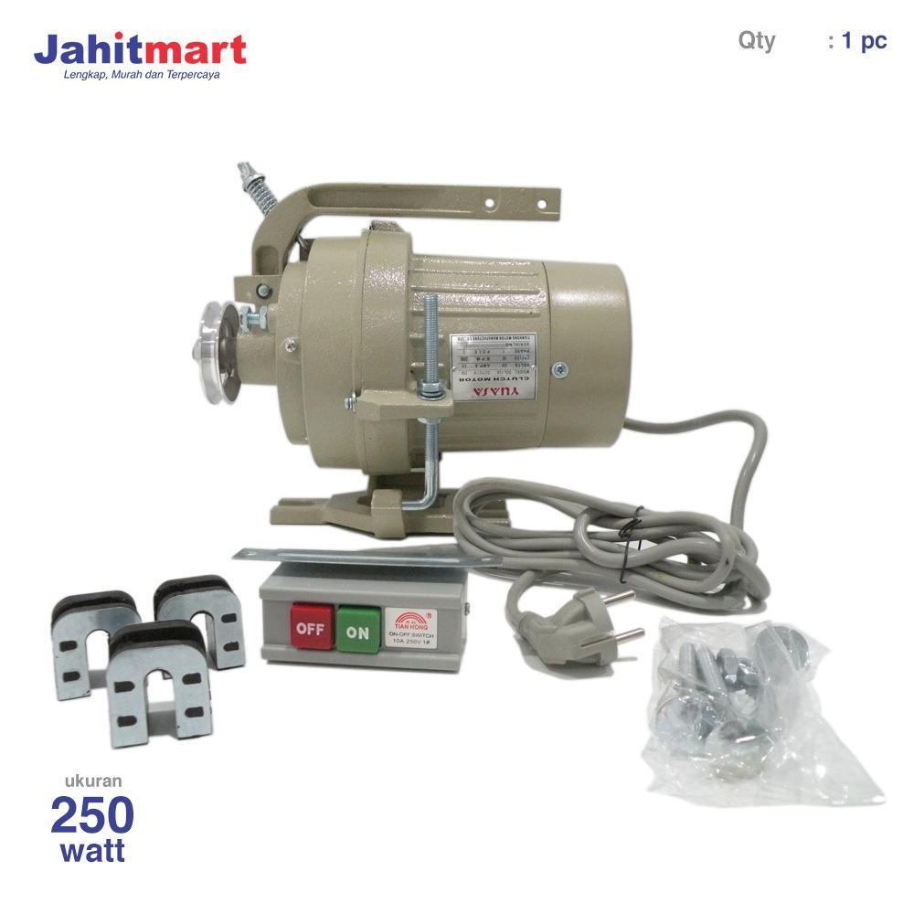 Dinamo Mesin Jahit Industri 250 Watt YUASA (Clutch Motor)