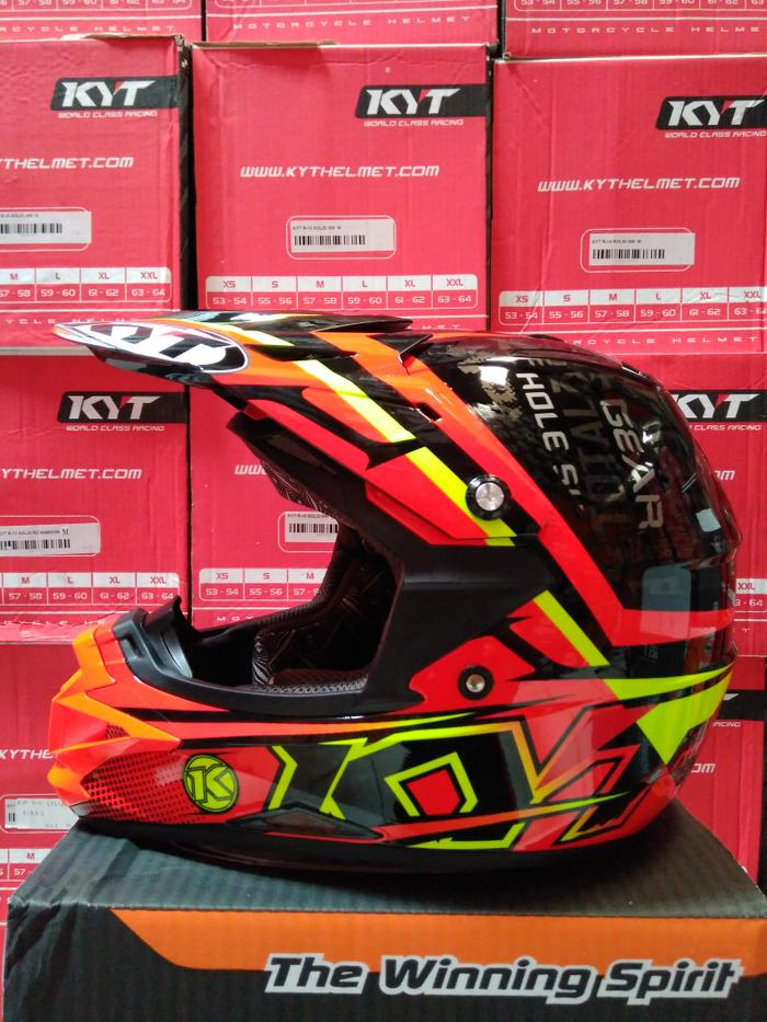 kyt croos over steep up red fluo