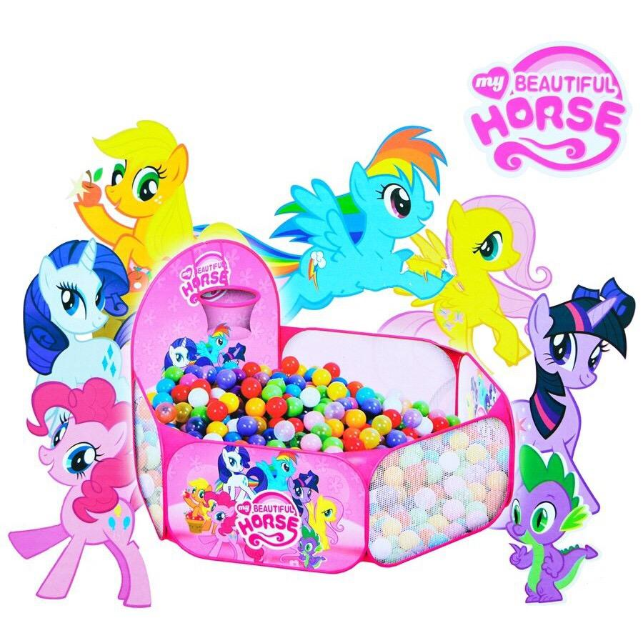 0960880001 | Tenda Mandi Bola My Little Pony Mainan Anak