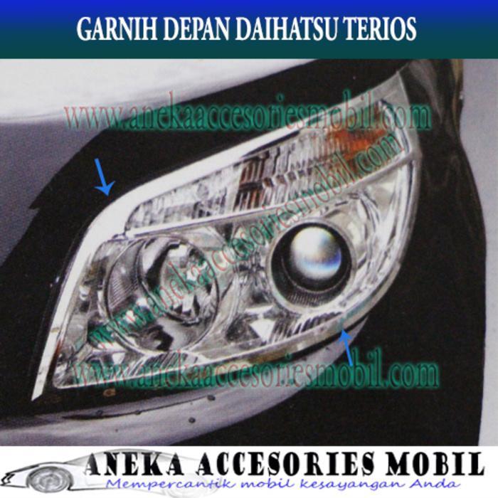 Garnish Lampu Depan/Front/Head Lamp/Light Mobil Daihatsu Terios