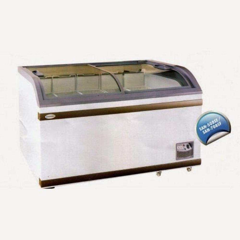Super Promo Sliding Glass Door Freezer Sansio Kapasitas 508 Liter San-508Sf Murah