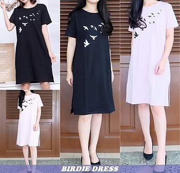 Milea Secret's - Birds Dress - Dress Wanita