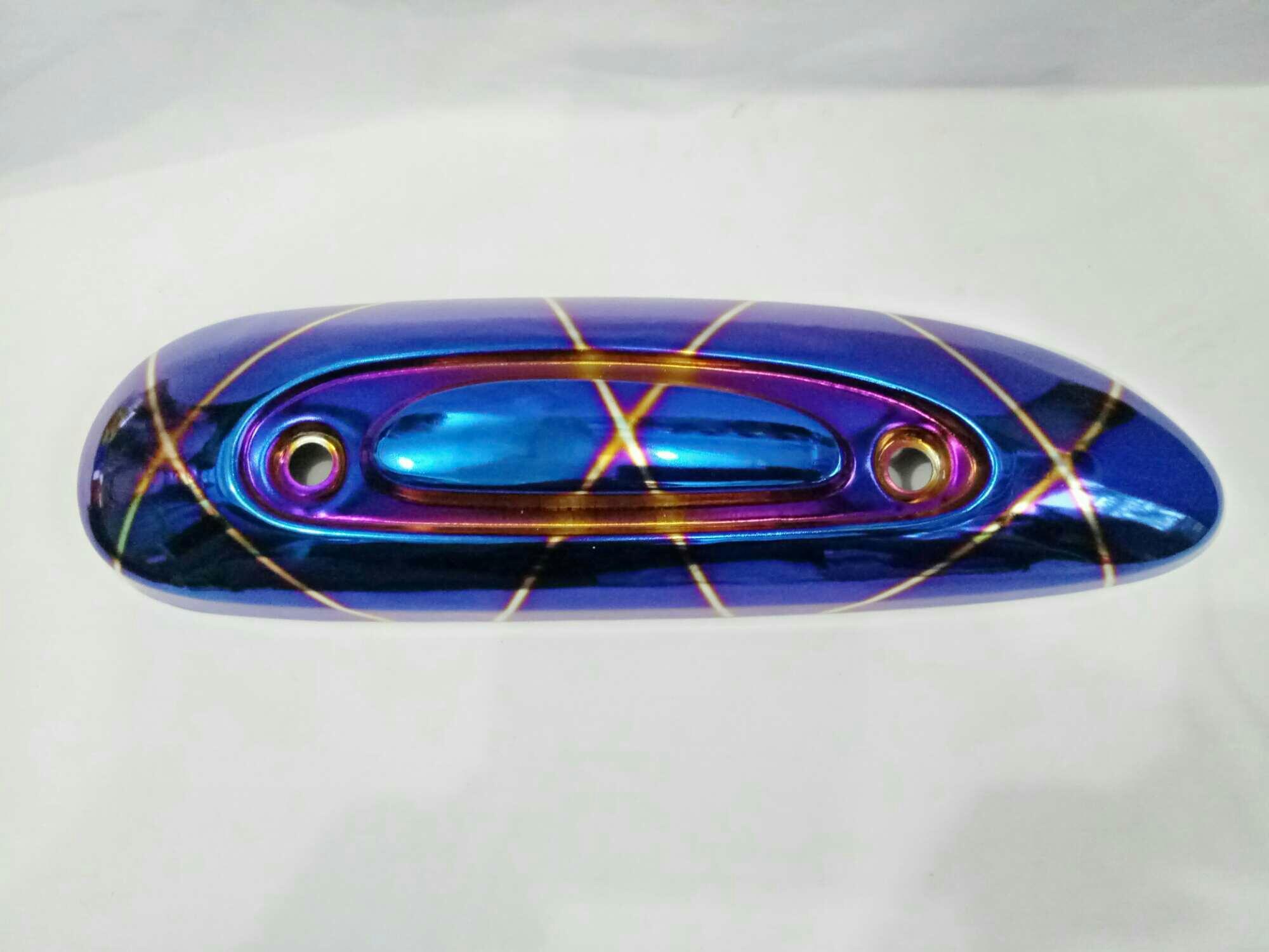 Kelebihan Tameng Cover Knalpot X Ride Pelindung Yamaha Prospeed Sx Series Xride Red Full Scoopy Blue Made In Thailand