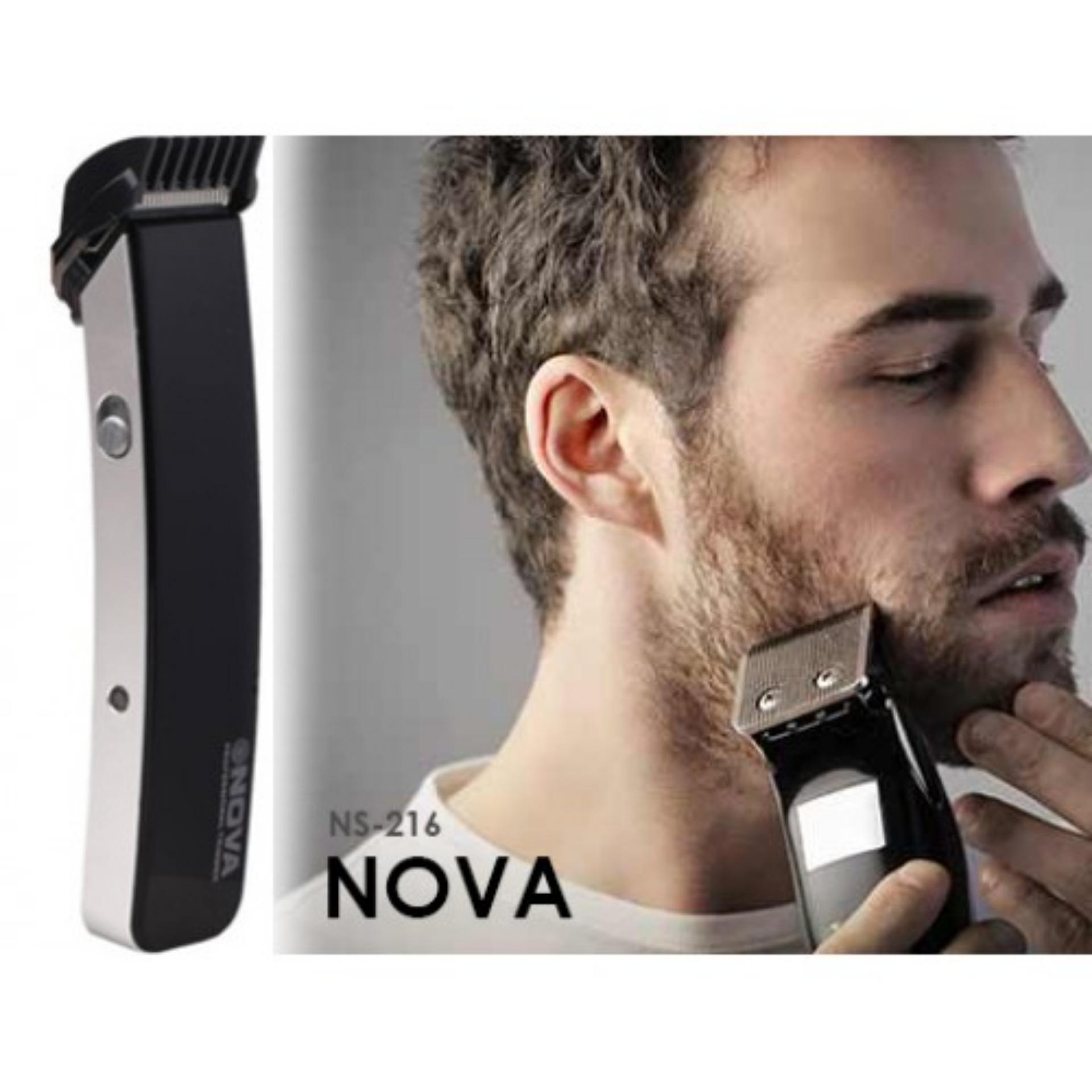 Nova Alat Cukur 3in1 Rambut Jenggot Bulu Hidung Hair Beard Trimmer Ns 216 And Dll Clipper Nhc 6138 Random Source