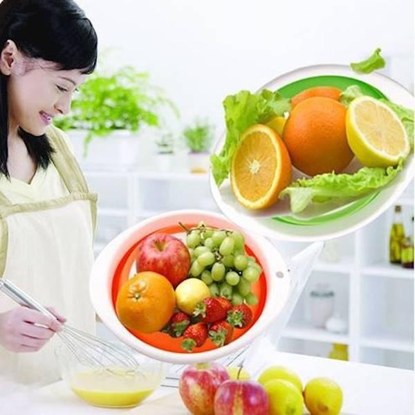 Keranjang Tarik Untuk Buah / Sayuran (26*24Cm)