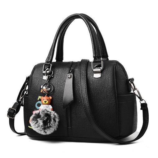 Tas Handbag Selempang Fashion Wanita Import Gantungan - Black / Maron / Gray / Ungu /