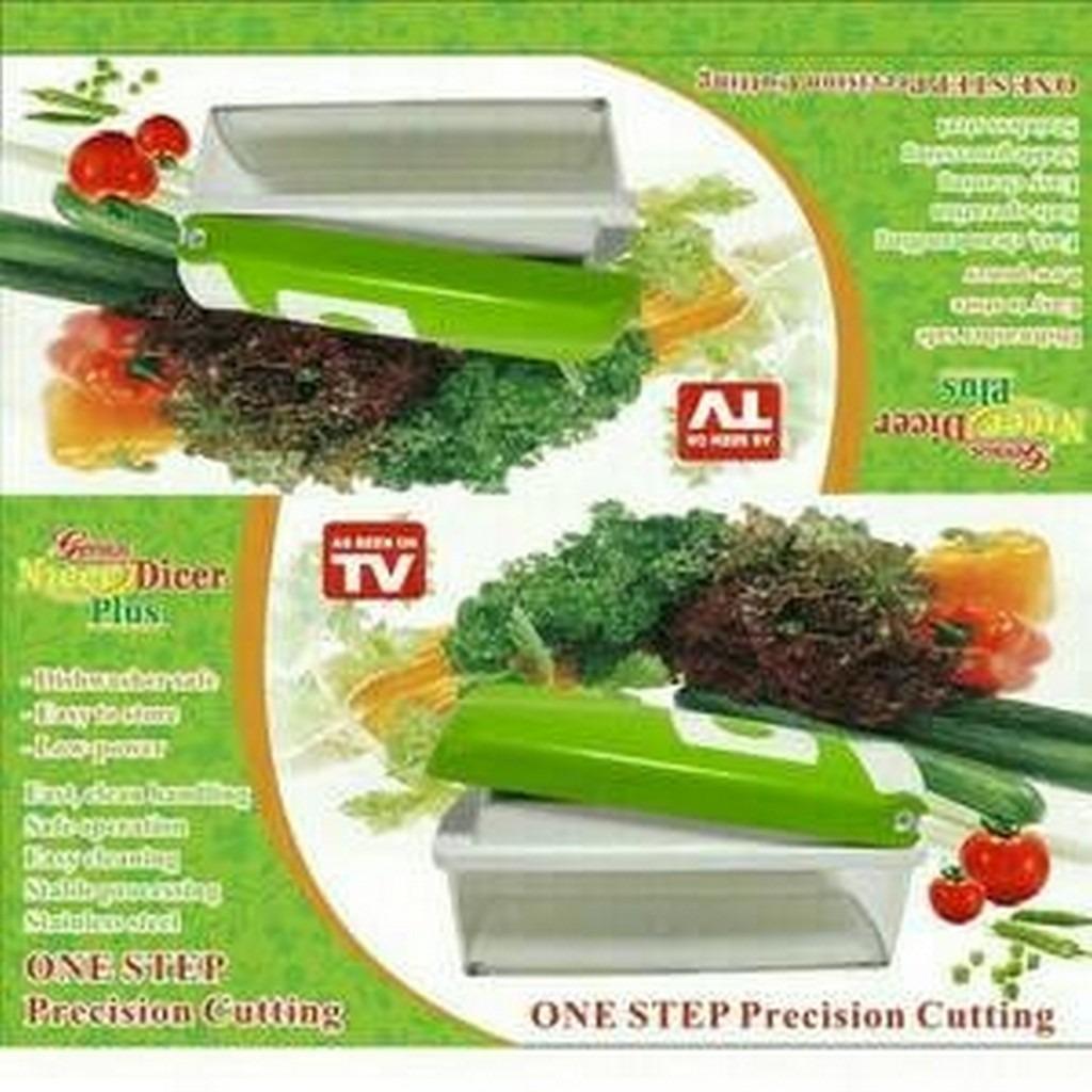 Nicer Dicer Plus / pemotong sayur serba guna / alat dapur / genius PROMO MURAH !!!