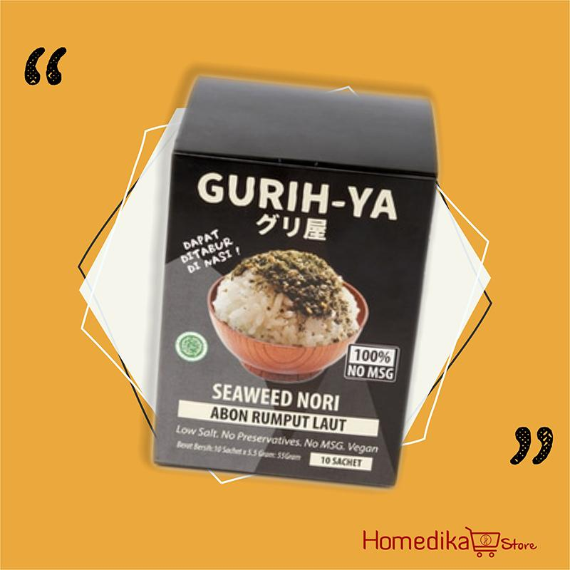 Gurih Ya - Seaweed Nori / Abon Rumput Laut Value Box Original