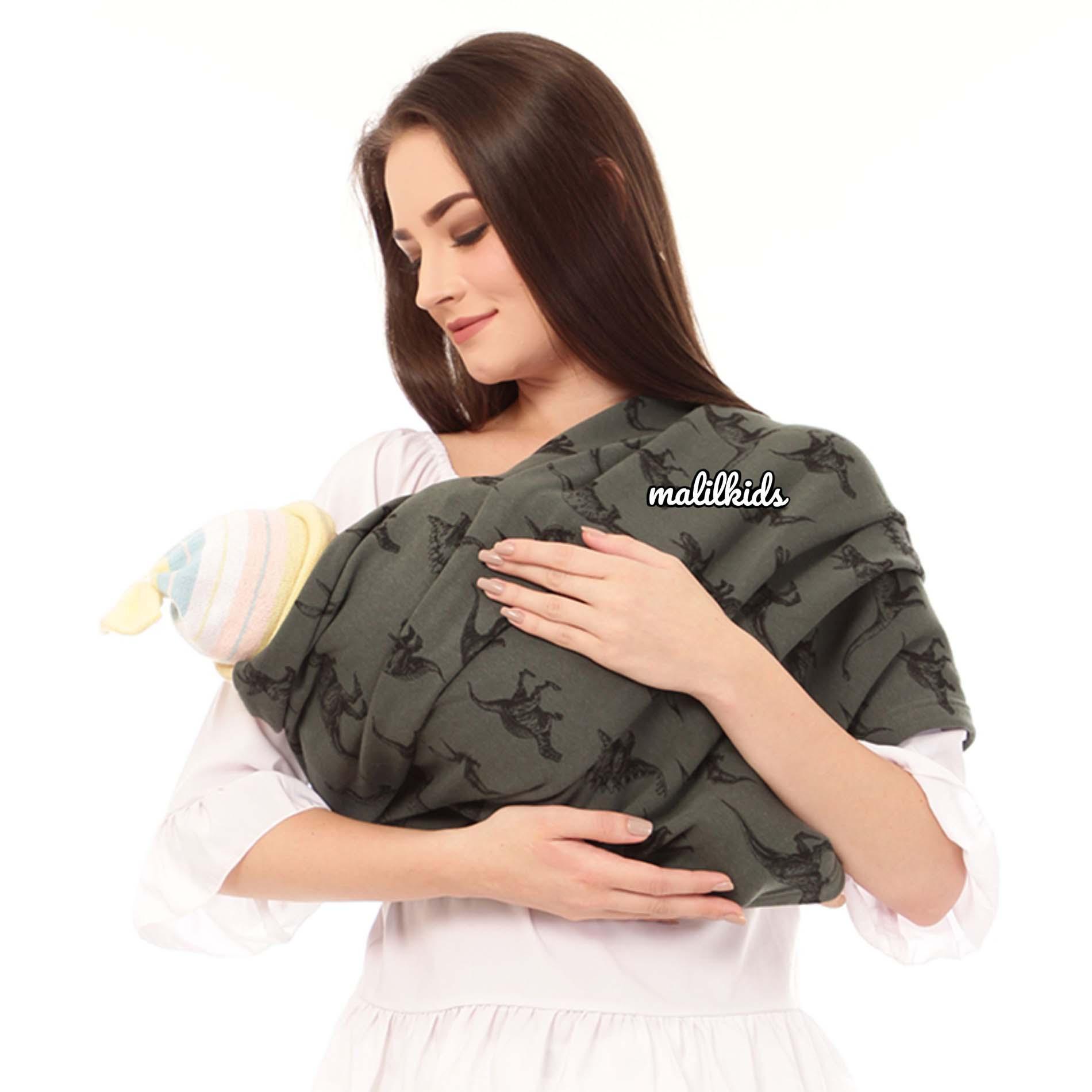 Review Gratis Pouch! Size Xl Malilkids Geos Gendongan Kaos Premium Gendongan Instan Model Dino Army Dan Harga Terbaru Pebruari 2019