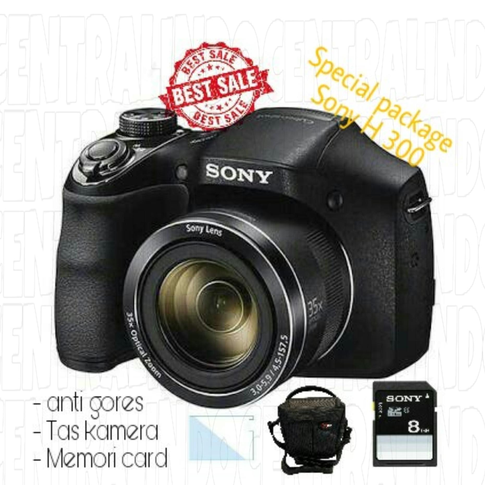 Harga Special Package Kamera Sony H300 With Acc Online
