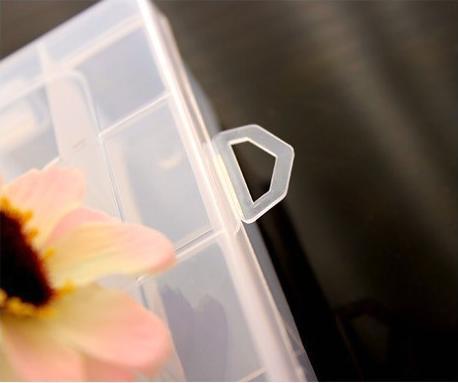 ... TOKO49 - Kotak Penyimpanan Plastik Mini (5*2 Kotak) - 3 ...