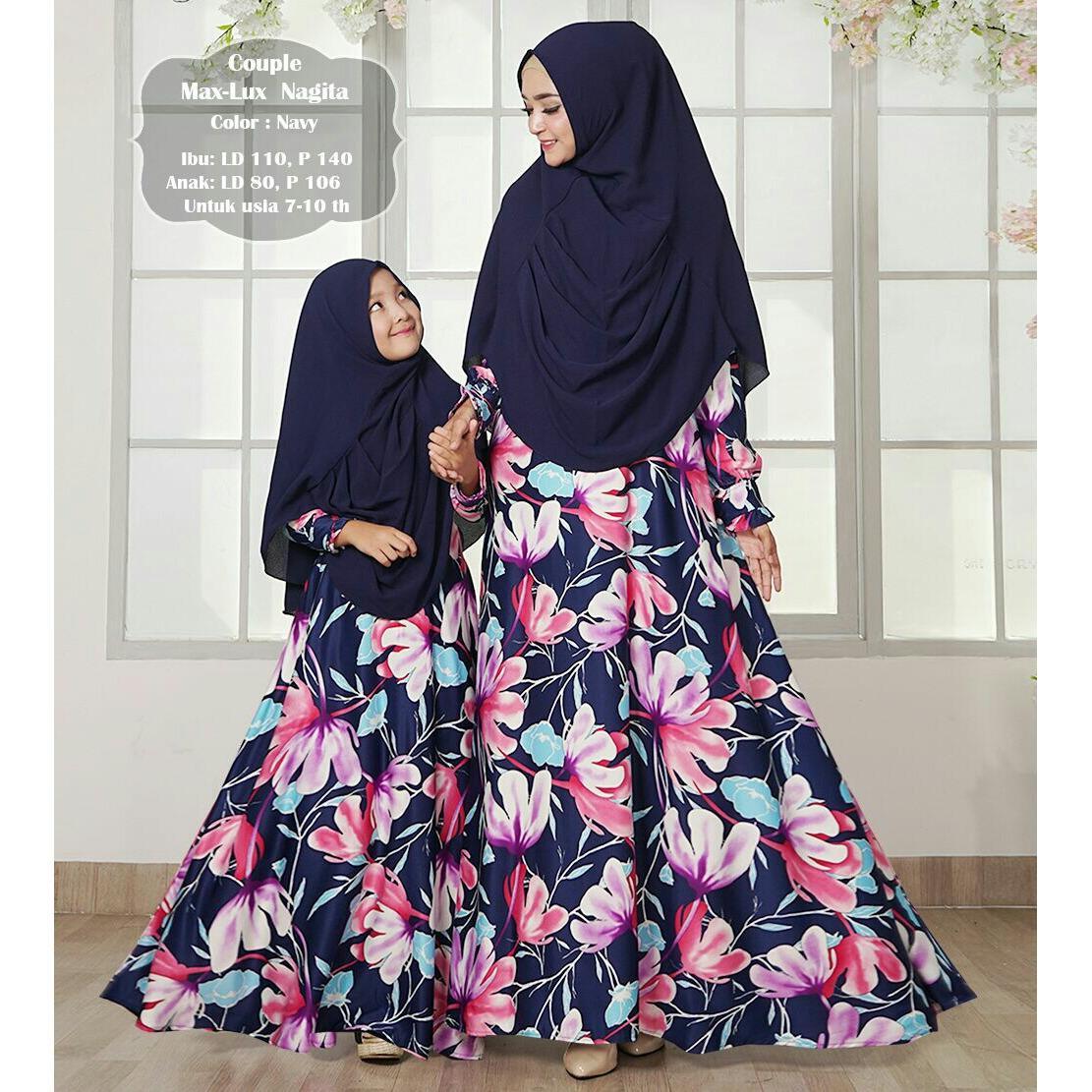 Pusat Jual Beli Humaira99 Gamis Syari Muslim Couple Ibu Anak Dress Hijab Muslimah Atasan Wanita Maxmara Lux Nagita Dki Jakarta