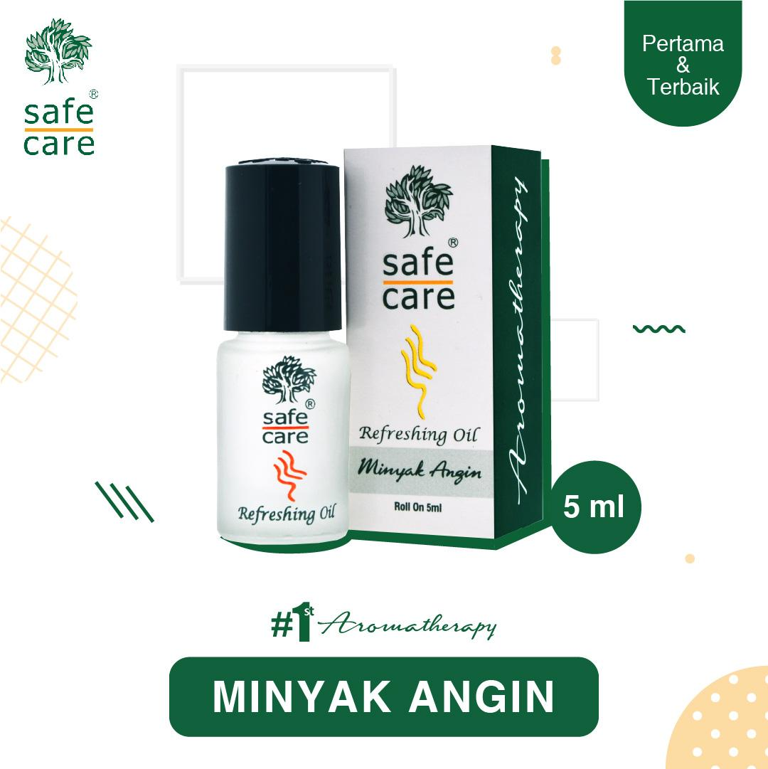 Safe Care Minyak Angin Aromatherapy Roll On 5 ml