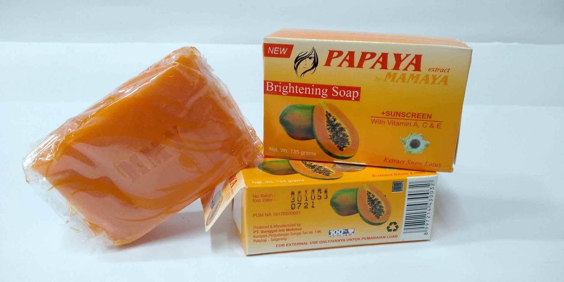 SABUN PAPAYA BPOM ORIGINAL BY MAMAYA