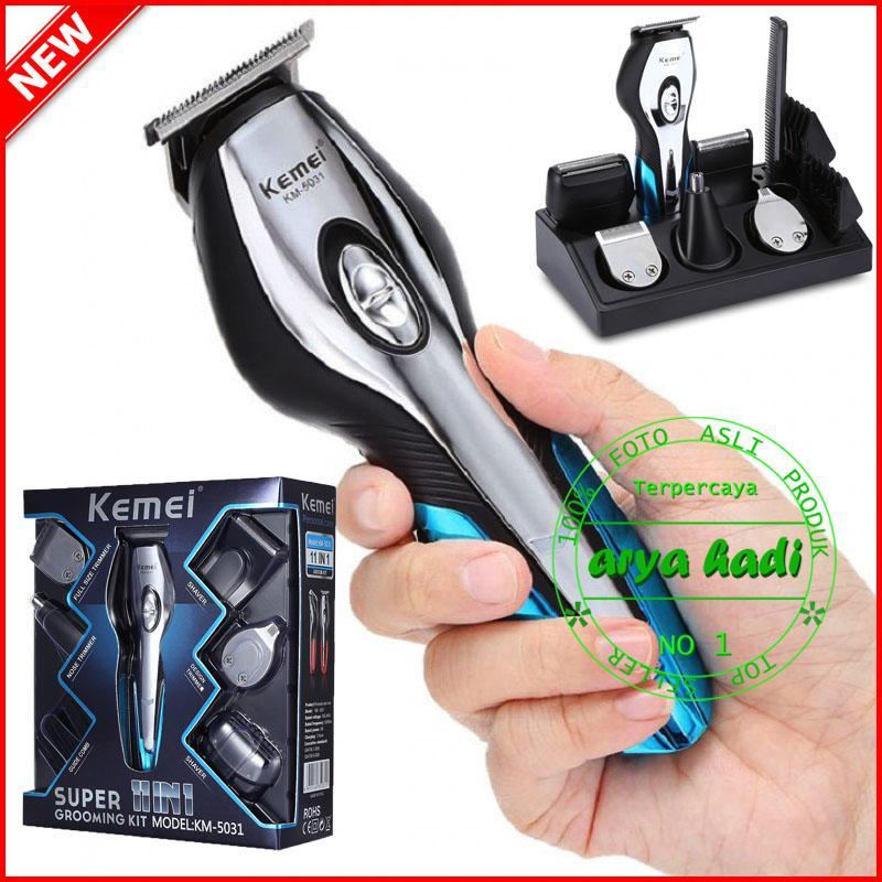 KEMEI KM-5031 Super Grooming Kit 11 in 1 Alat Cukur Rambut Charger Li- 0d324fdc91