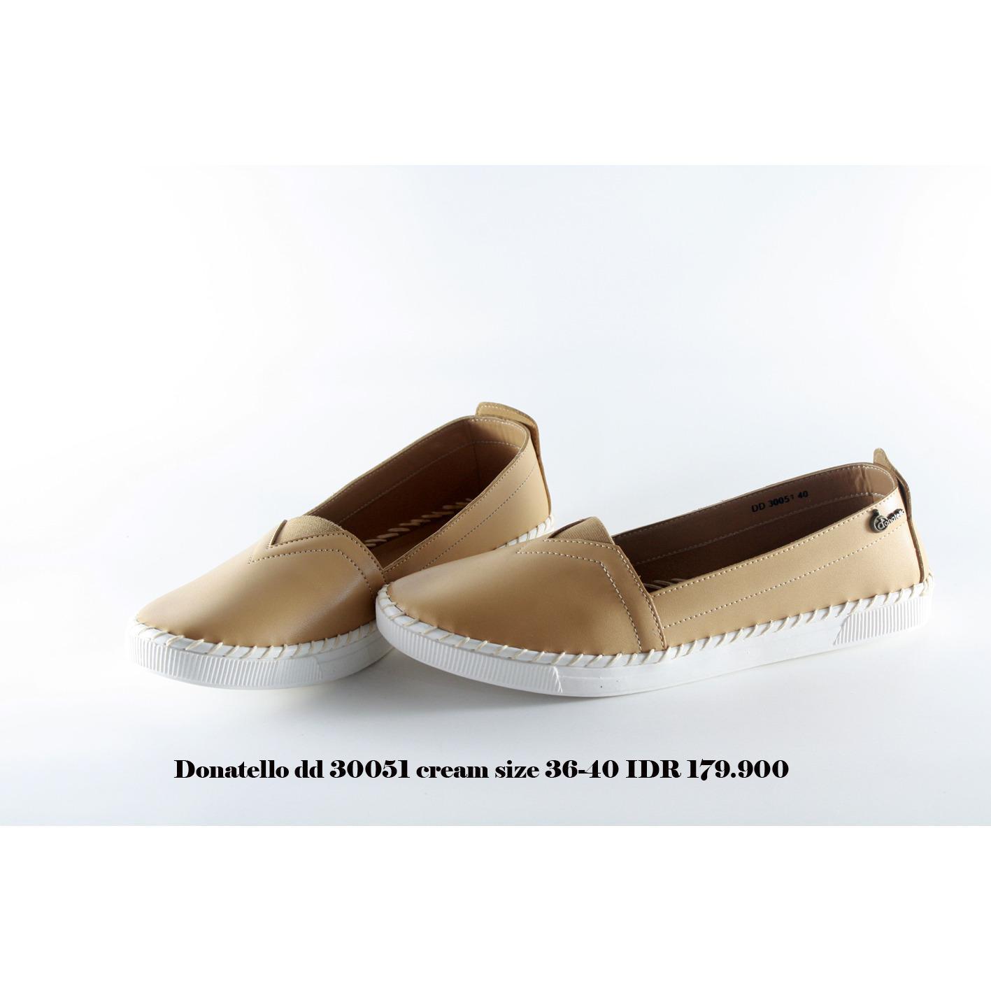 donatello dd 30051 sepatu kets wanita cream