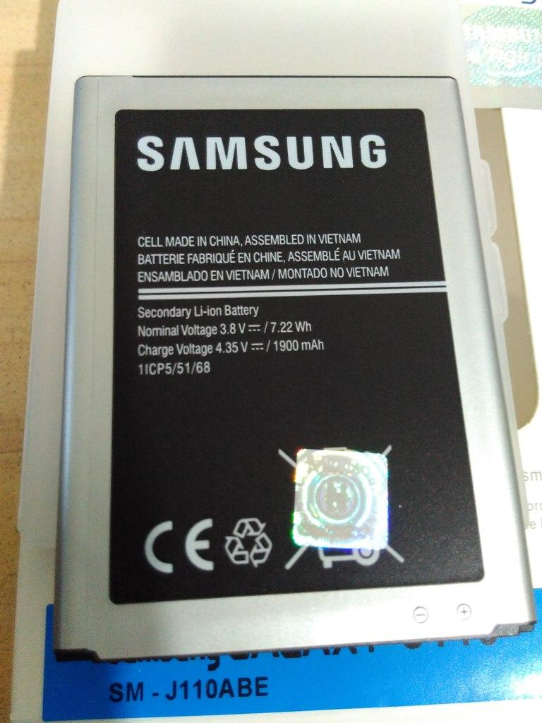 Fitur Original 100 Baterai Batre Batery Batrai Batere Battery Samsung Galaxy Ace 3 S7270 Putih Batrei Battre J1
