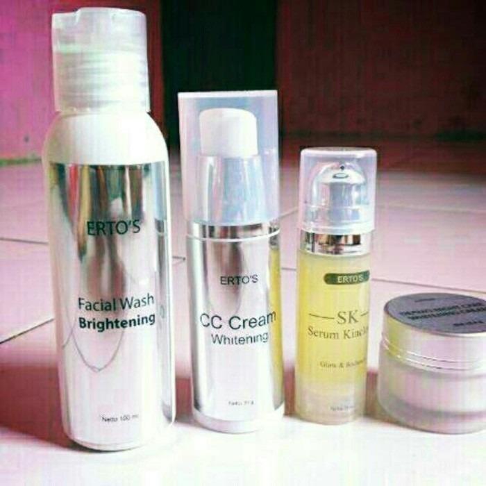 Jual Paket Terdiri Dr 4 Item F*c**l Wash Brightening Cc Cream Serum Kinclong Night Cream Original Ber Bpom Online Di Indonesia