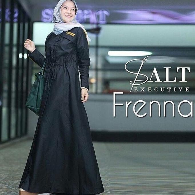 Detail Gambar Terlaris Gamis Terbaru Frenna Maxi Dress Gamis Murah Wanita / Gamis Jumbo | Baju