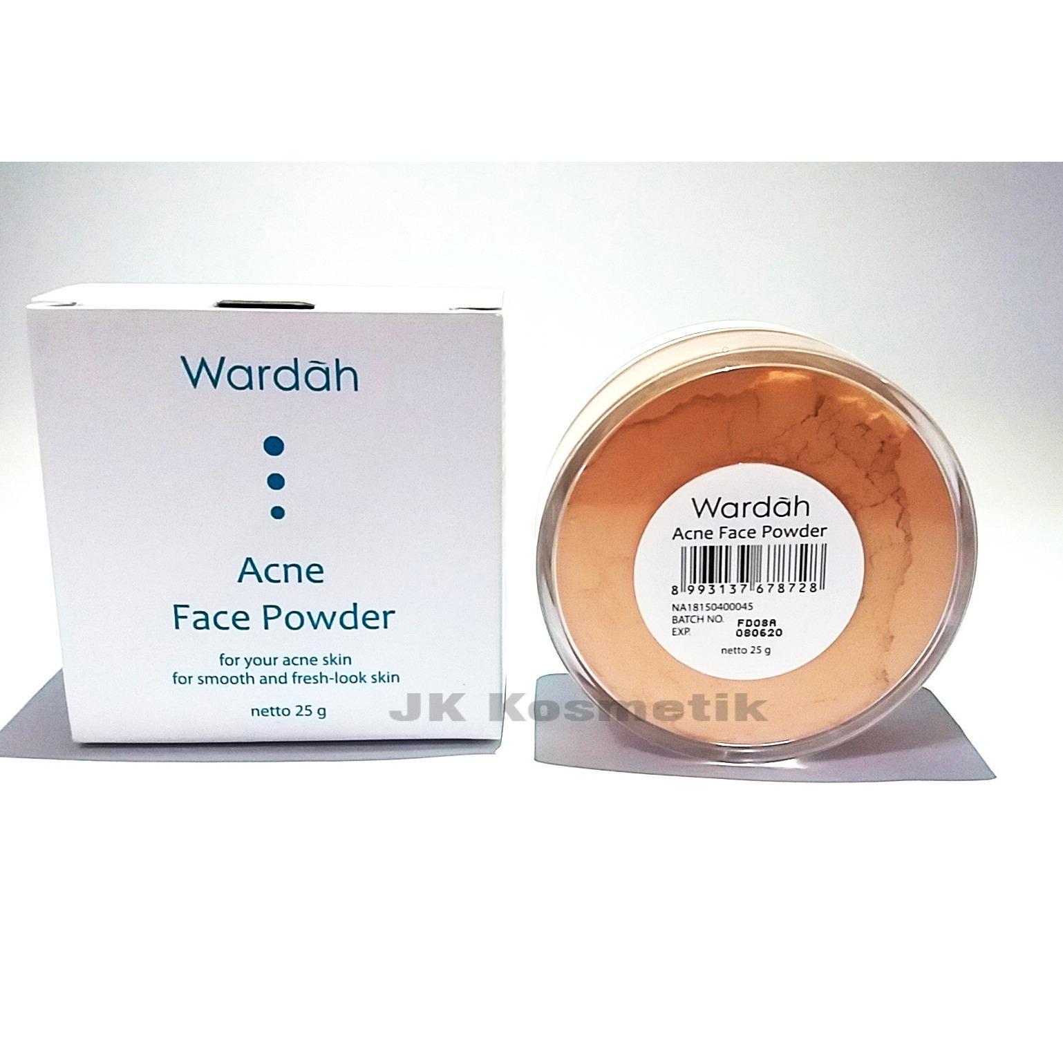 ... Wardah Acne Face Powder Bedak Tabur - 3