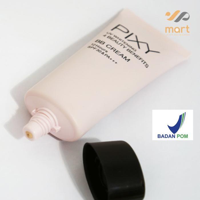 BB Cream Whitening Pemutih Pixy UV Whitening 4 Beauty Benefits BB Cream 01 Natural Beige - 3