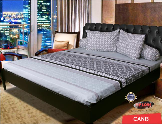 SPREI ALL NEW MY LOVE 180 X 200 CANIS TINGGI 30 KING SIZE Exclusive